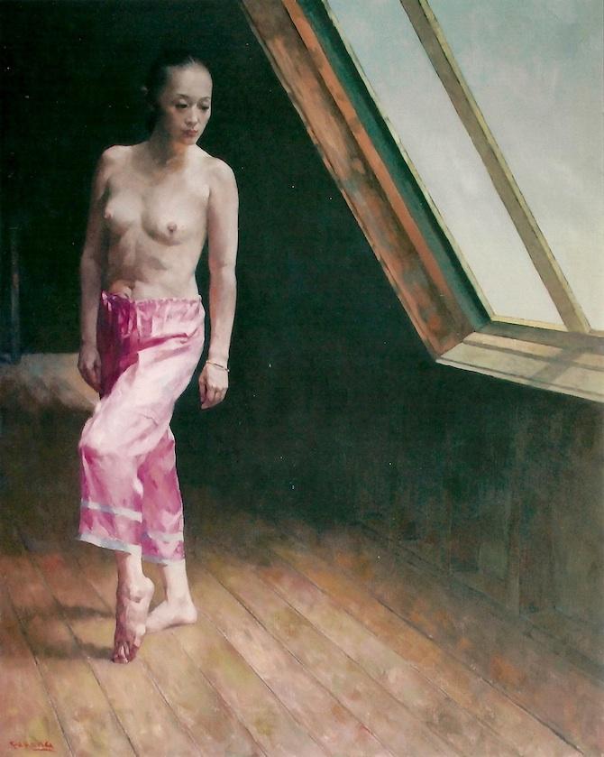 window  1  152 x 122cm  oil on canvas